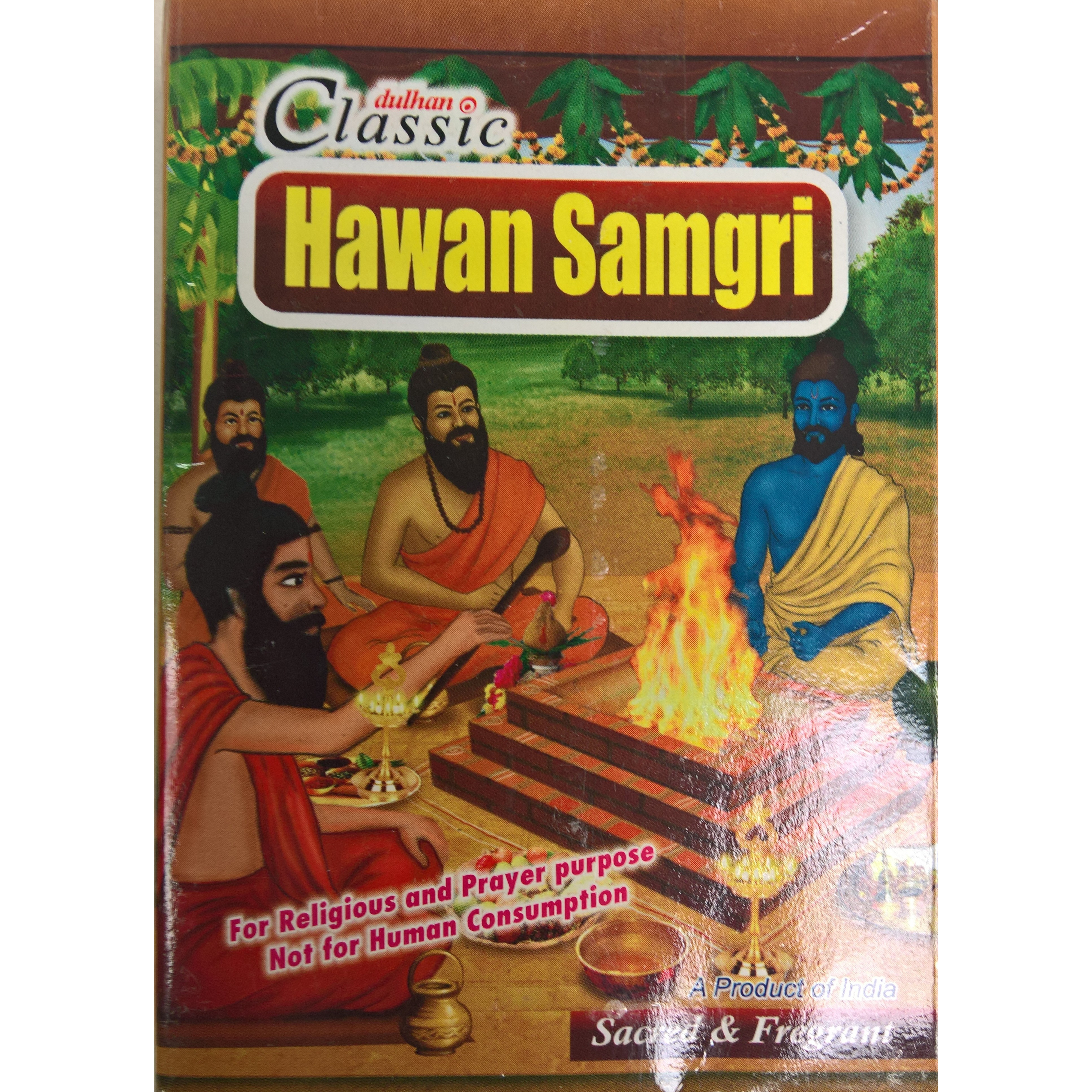 Dulhan Classic Hawan Samagri (Herbal)- 200g (7 Oz)