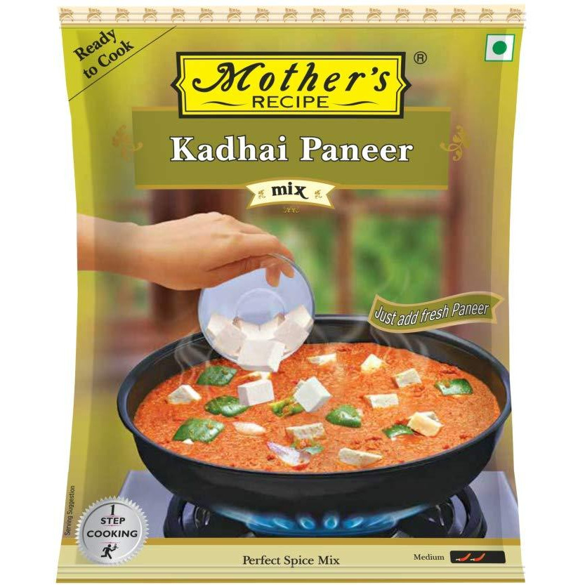 Mother's Recipe Spice mix for Kadhai Paneer 80 gms