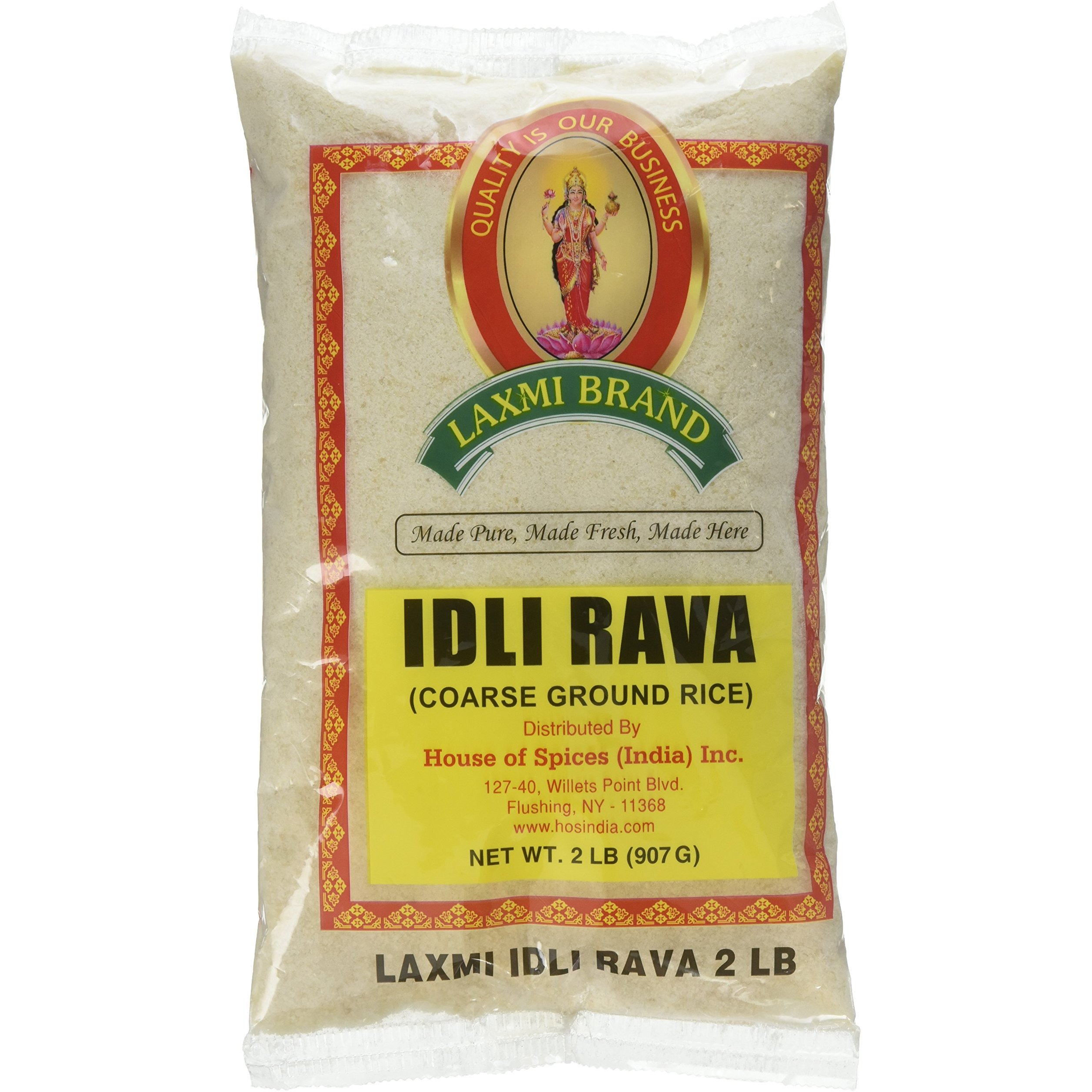 Laxmi Idli Rawa ( Coarse Ground Rice) 2 lbs