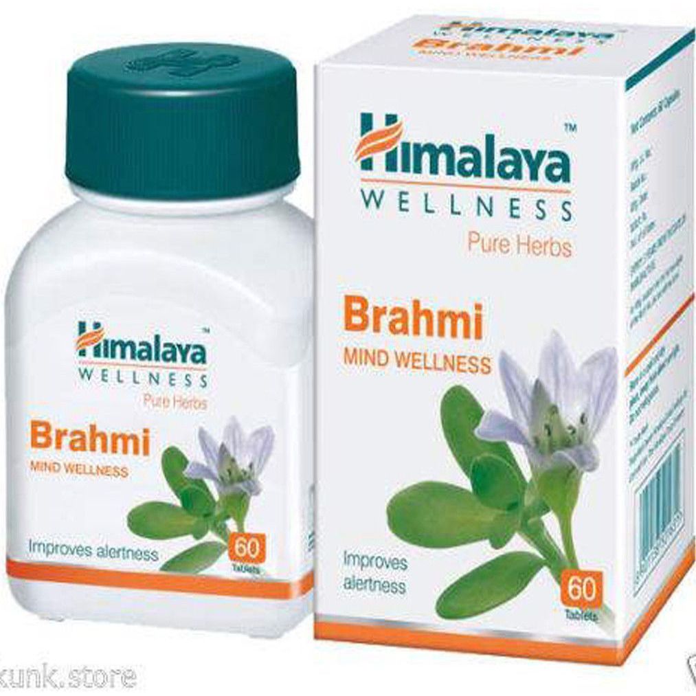 Himalaya Brahmi Tablets for Mind Wellness Free Shipping