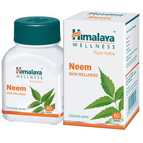 Himalaya Neem Tablets For Skin Wellness Free Shipping