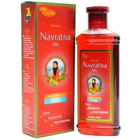 Himani Navratna Oil-300 Ml - Ayurvedic 9 Herbs All Natural Ingredients  Free Shipping