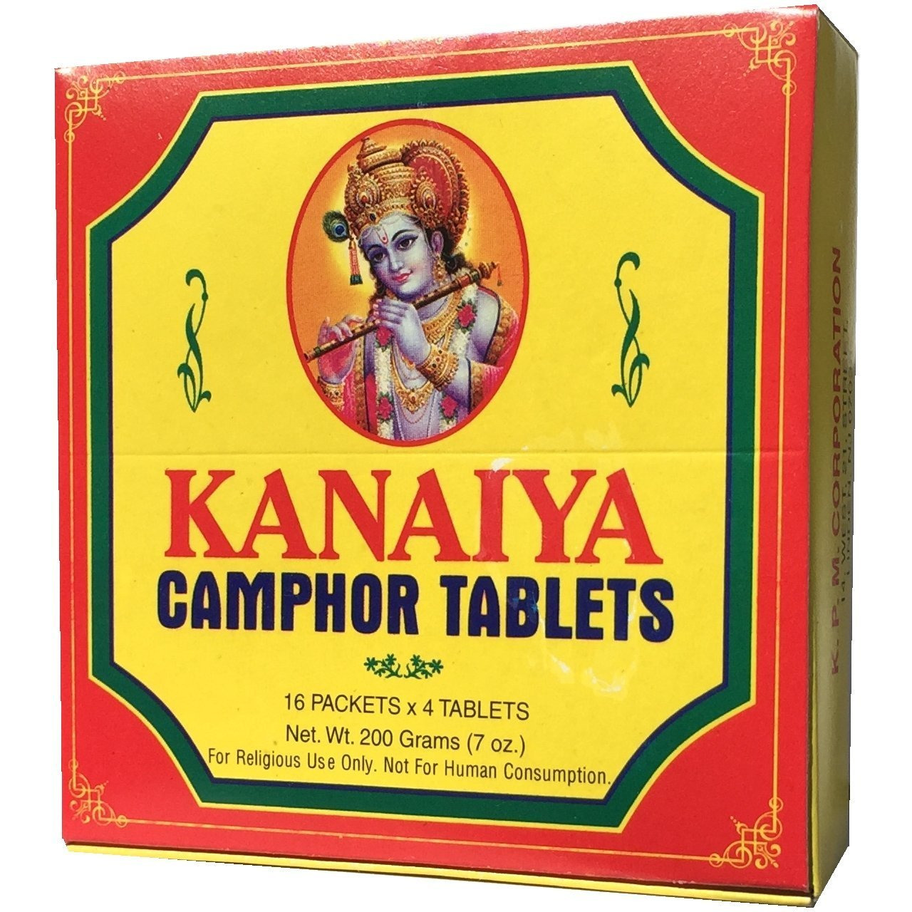 CAMPHOR TABLETS W/64 PIECES TABLET TABLETS 200GM Free Shipping