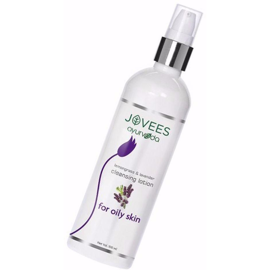 100% Natural Jovees Lemongrass and Lavender Cleansing Lotion For Women  -100 Ml (Size:PACK OF 10)