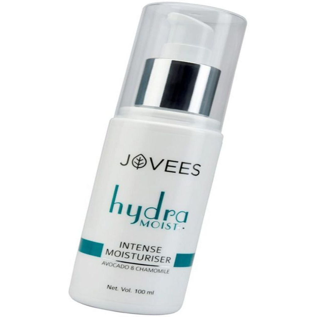 100% Natural Jovees Avocado & Chamomile Hydra Intense Moisturiser For All Skin Types ??? 100Ml (Size:PACK OF 08)