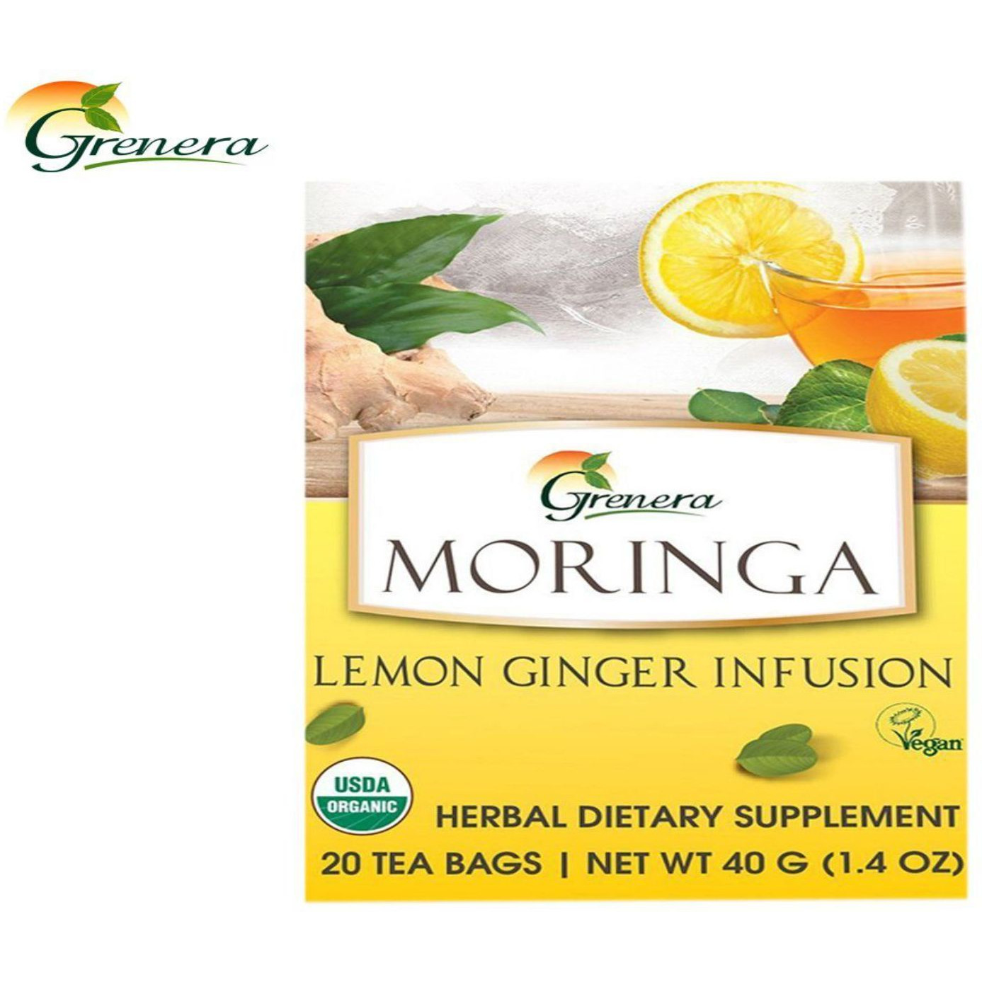 New 100% Moringa Assorted Infusion Tea Bag Health Care (Size:PACK OF 04)