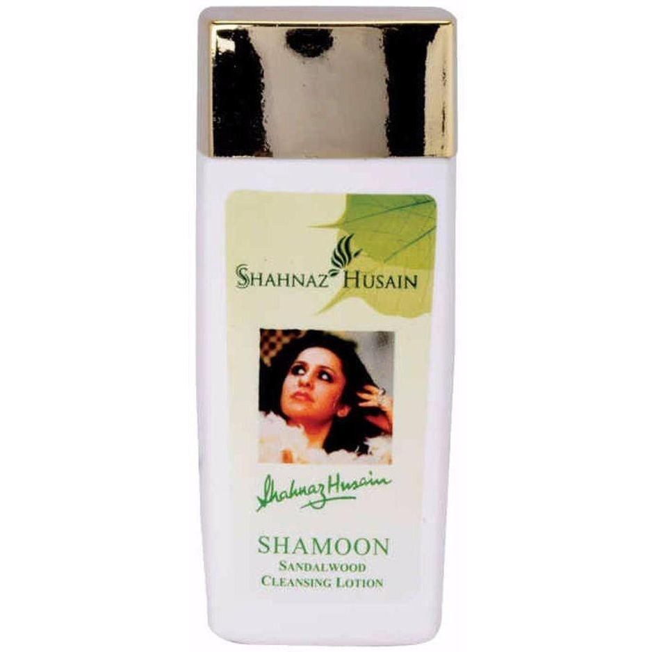 Shahnaz Husain Shamoon Sandalwood Cleansing Lotion - 100ML-Pure Herbal (Size:PACK OF 10)