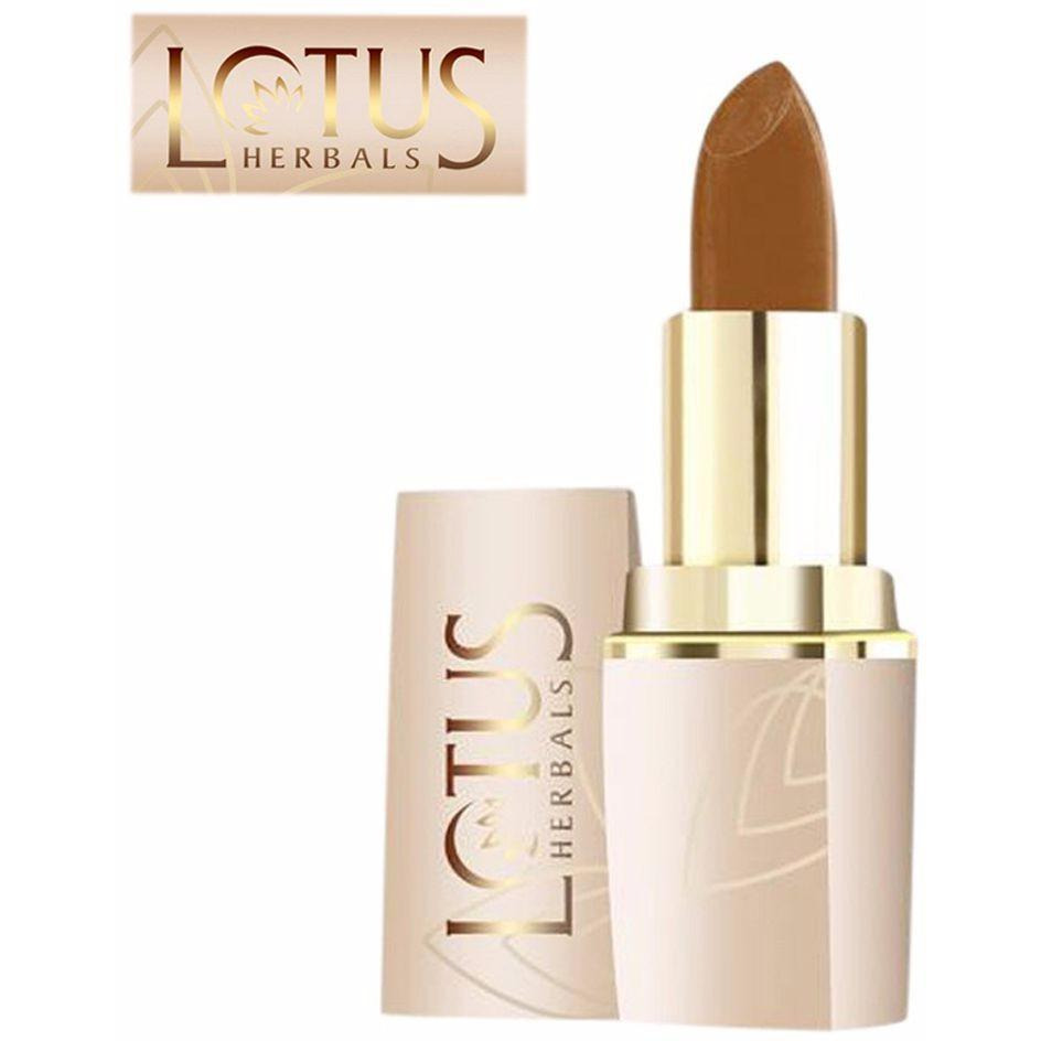 Lotus Herbals Pure Colors Lip Color For Women (All Skin Types) - Nutty Brown- 666 ??? 4.2 Gms (Size:PACK OF 02)
