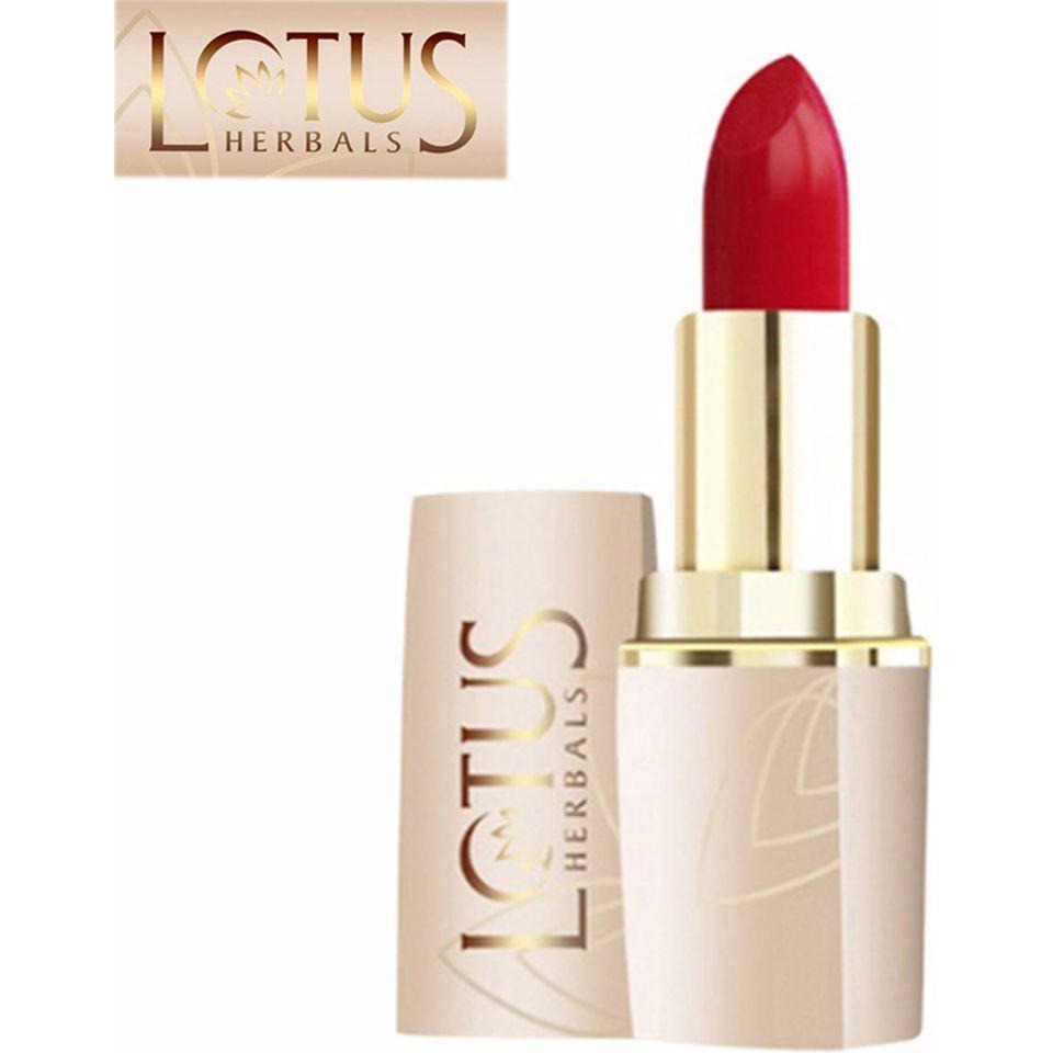Lotus Herbals Pure Colors Lip Color For Women (All Skin Types) - Ruby Crush - 4.2 Gms (Size:PACK OF 20)