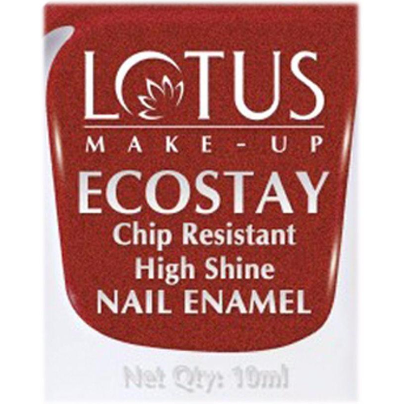 Lotus Herbals Ecostay Nail Enamel (Toluene & DBP Free) - 10 ml - Shiny Dawn (Size:PACK OF 03)
