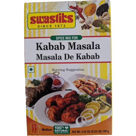 Kabab Masala (Pack of 6) - 100 Gm Each