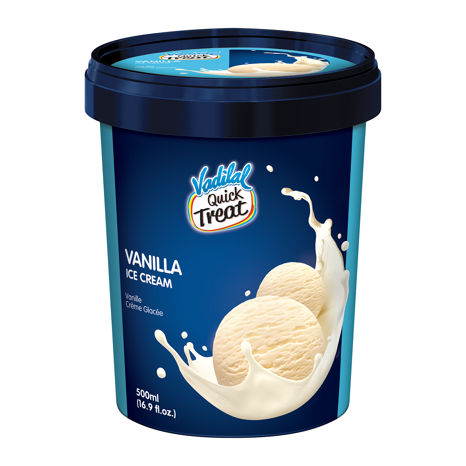 Vadilal Vanilla Ice Cream - 500 Ml