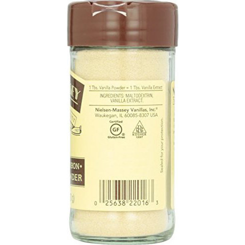 Nielsen-Massey Vanillas, Inc. Vanilla Powder, 2.50-Ounce