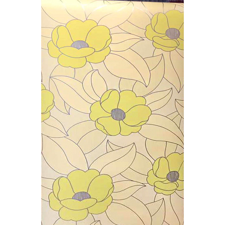 Arihant Design - Baby Flower  Made Of Embosed Design With 57Sq.Ft High Quality Wallpaper