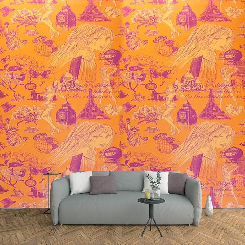 Arihant Design - Capsule Made Of Embosed Design With 57Sq.Ft High Quality Wallpaper