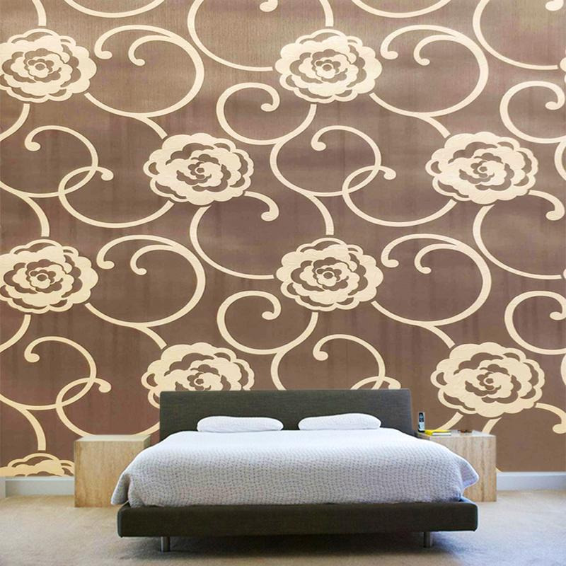Buy Online Home Decor High Quality Embossed Texture Washable Hing Vinyl Wallpaper Art Wall Sticker From USA
