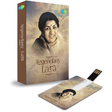Music Card: Legendary Lata (200 HD SONGS) (USB MEMORY STICK)