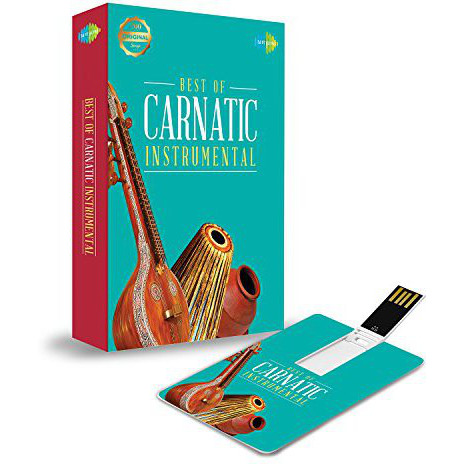 Music Card: Best of Carnatic Instrumental - 320 Kbps MP3 Audio