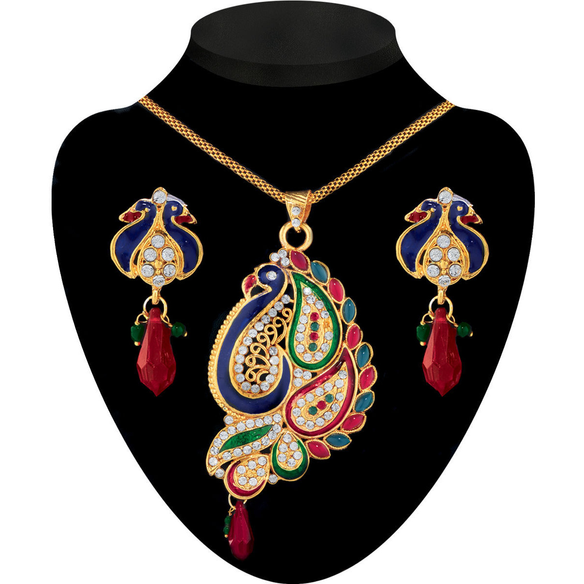Ethnic Jewels Alloy Jewellery Set For Women