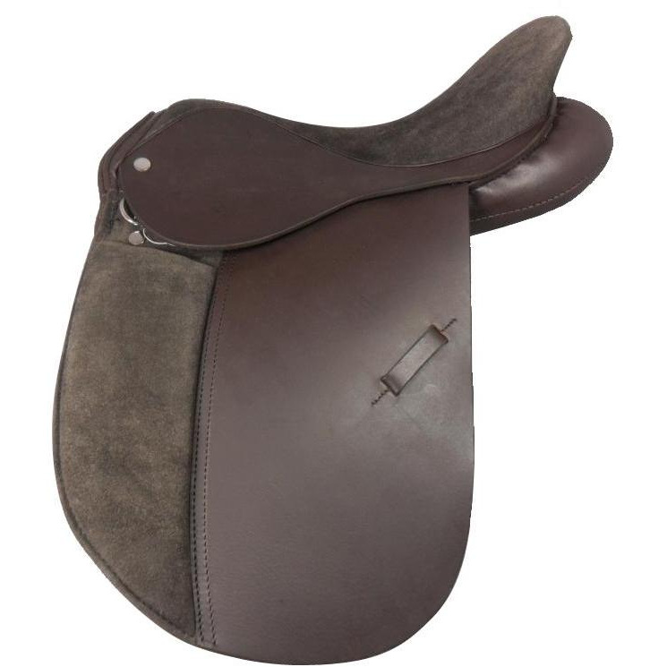 New Pure Leather English All purpose Racing Horse Saddle