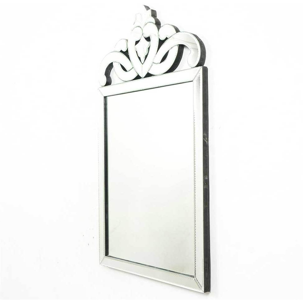 IndianShelf Handmade Decorative Glass Rectangular Venetian Style Mirror Online