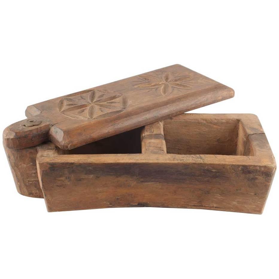 Indianshelf Handmade Antique Wooden Spice Rackcontainerorganizer Boxcontainer Osb 13