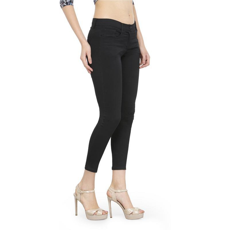 Black Jeggings with Side and Back Pockets-28