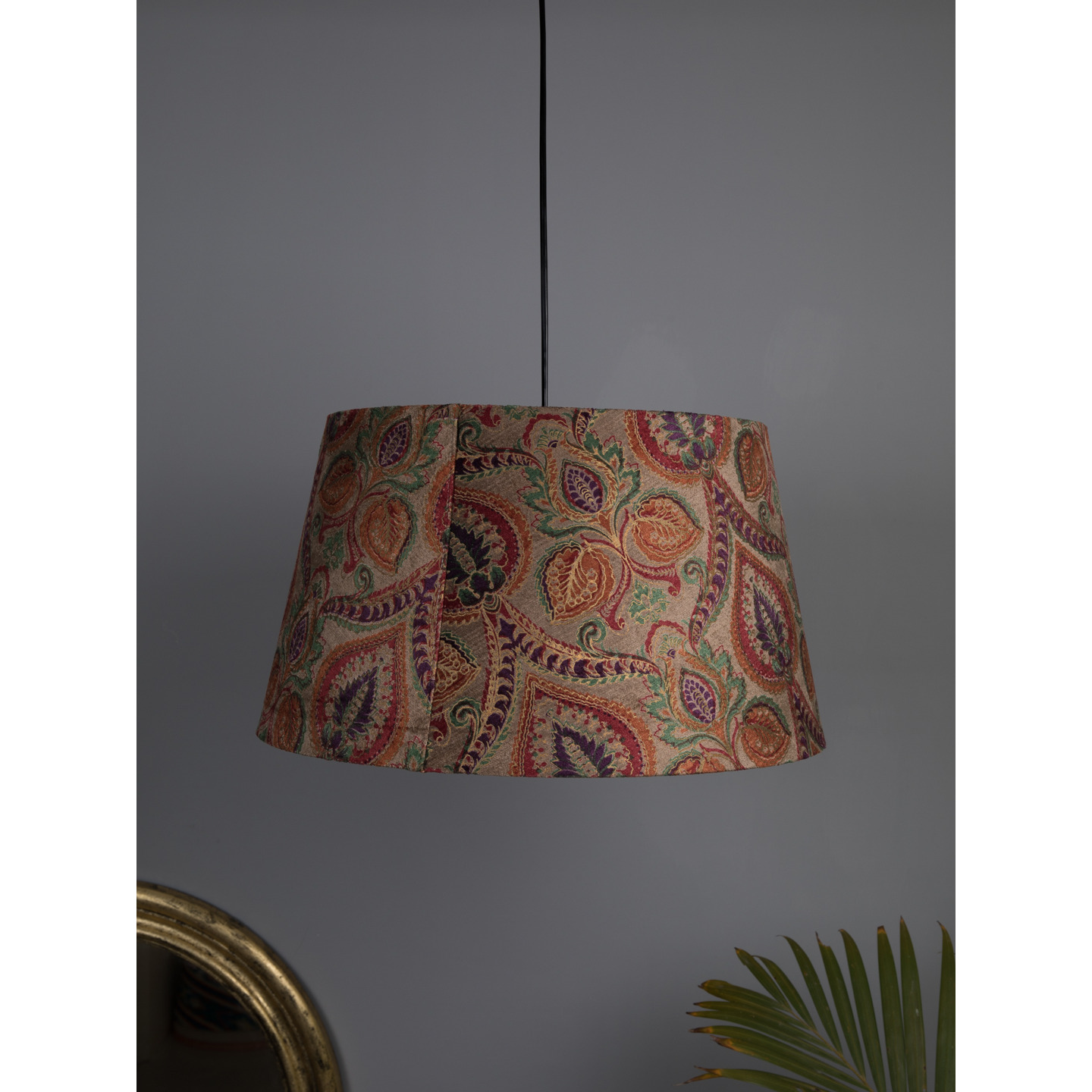 1 Pc Hanging Lamp Set Attached With A Bulb Holder & Adjustable Cord(Multicolor)