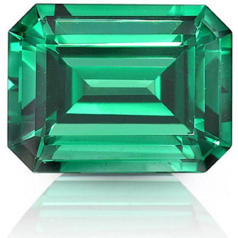Emerald Shape Cut Loose Extreme Fire Genuine Moissanite Use 4 Pendant/Ring