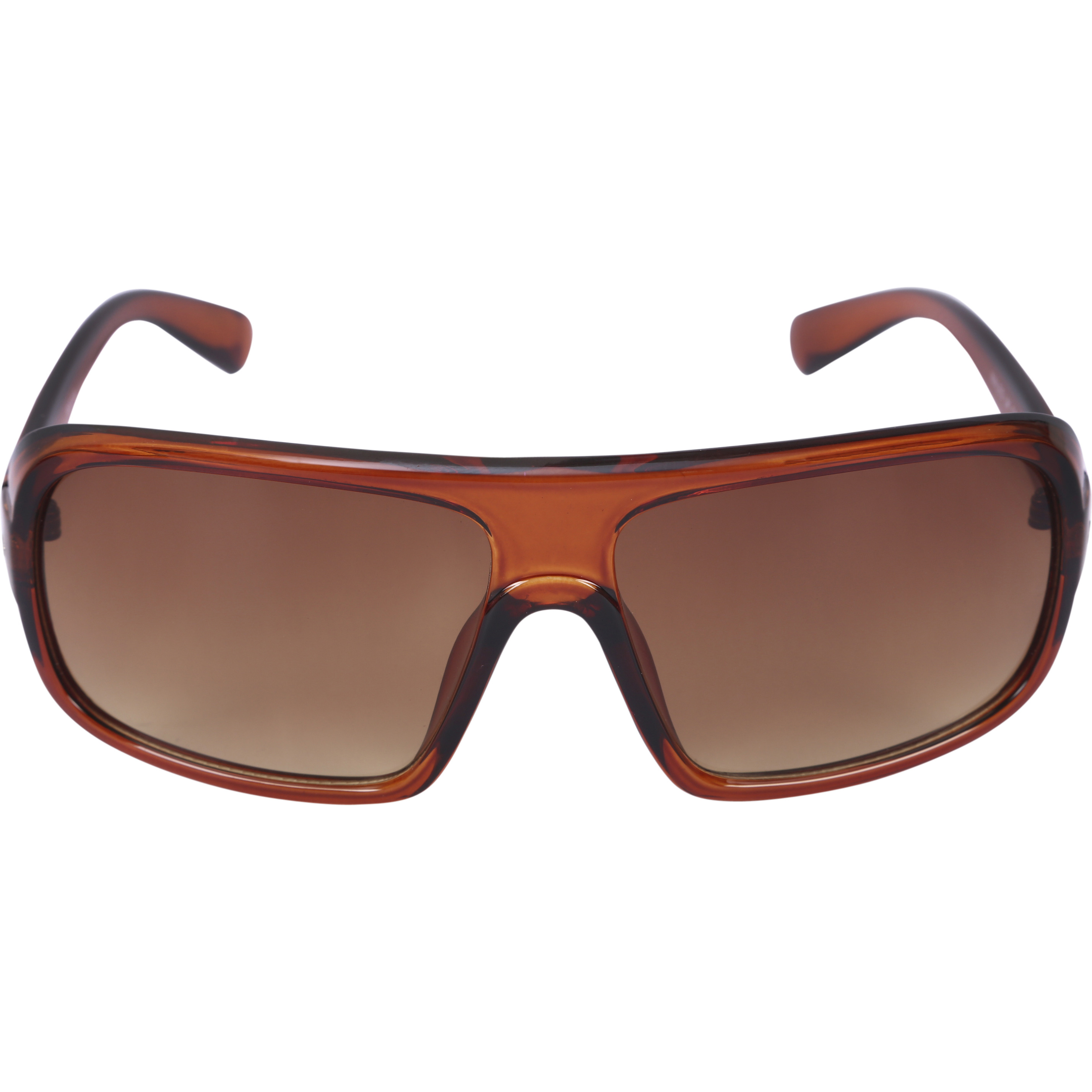 Camerii Metfinish Black  Rectangle Sunglasses