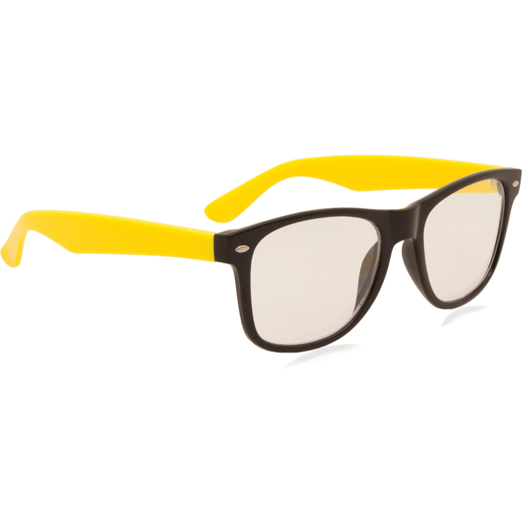Camerii Glossy Transparent  Rectangle Sunglasses