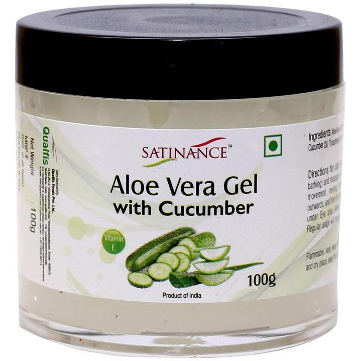 Aloe Vera Gel with Cucumber 100g -  ( 100% Natural, No added Perfumes)