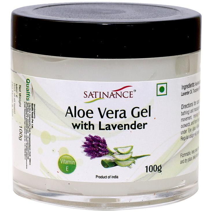 Aloe Vera Gel with Lavender 100g - (100% Natural,No added Perfumes)