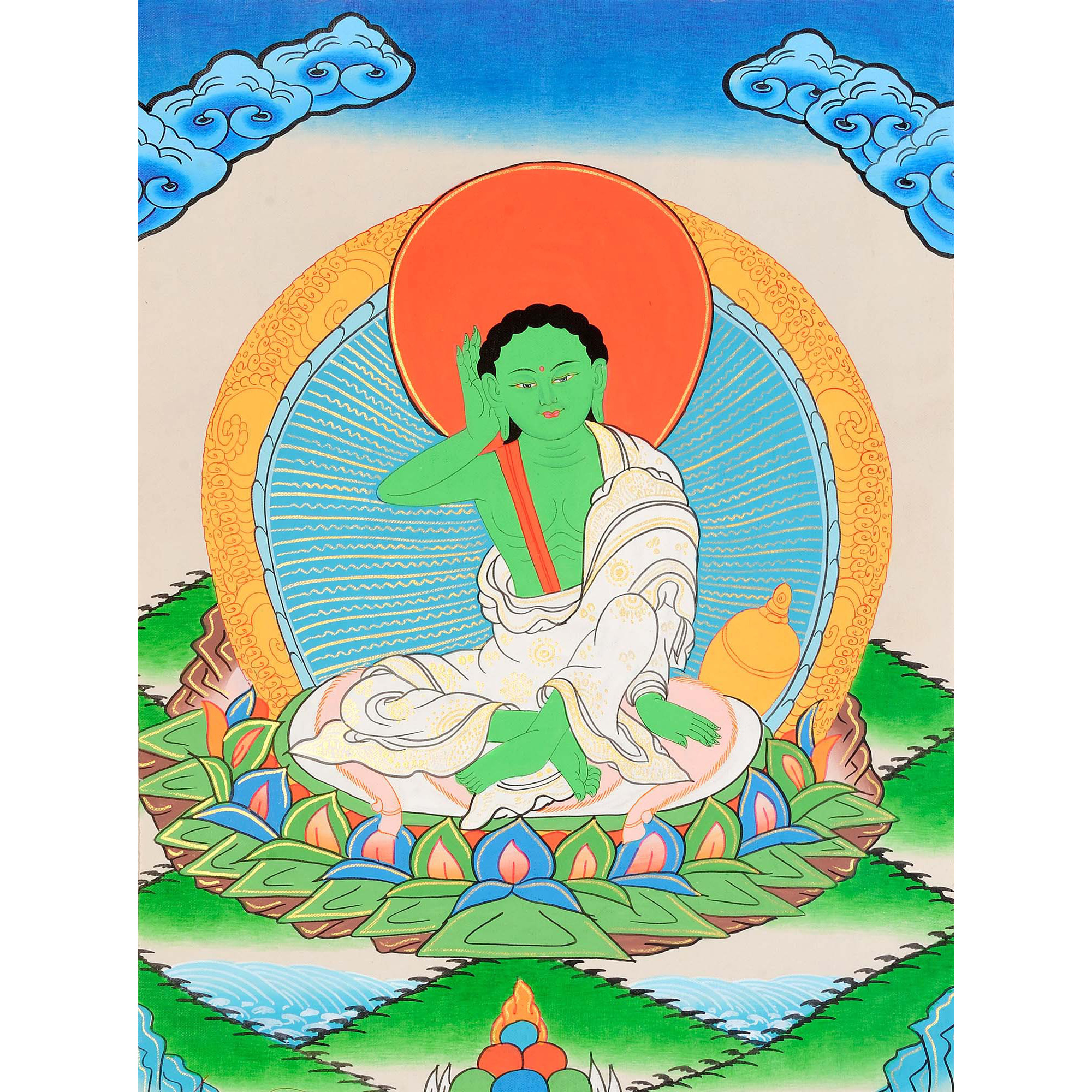 Milarepa - A Great Mystic Poet, Singer and Siddha of Tibet -Tibetan Buddhist