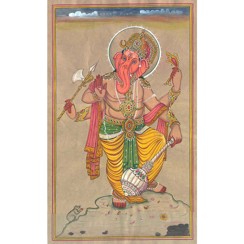 Yuddha Ganesha (Ganesha the Warrior)
