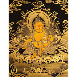 Tibetan Buddhist Deity Jambhala (Kubera): The God Who Bestows Wealth and Prosperity