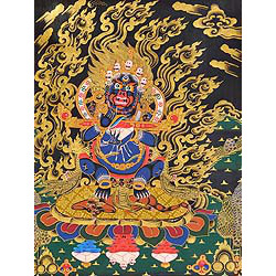 Mahakala Panjaranatha (Lord of the Pavilion) -Tibetan Buddhist