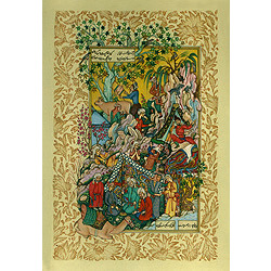 Majnun's First Glimpse of the Fair Laila