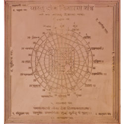 Vastu Dosha Nivarana Yantra (Yantra to Eliminate of Vastu Defects and Faults)