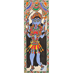 The Four Armed Goddess Kali