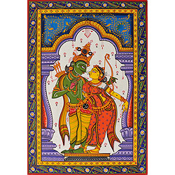 Lord Rama with Sita