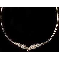 Necklace of Cubic Zirconia