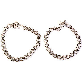 Sterling Anklets (Price Per Pair)