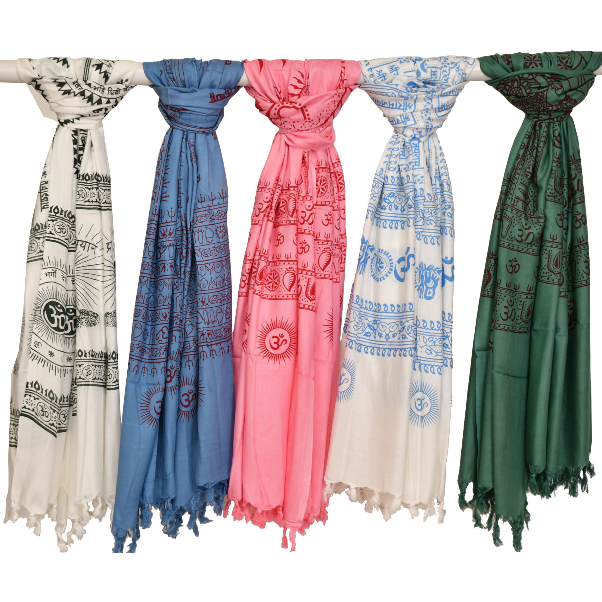 Lot of Five Prayer Shawls