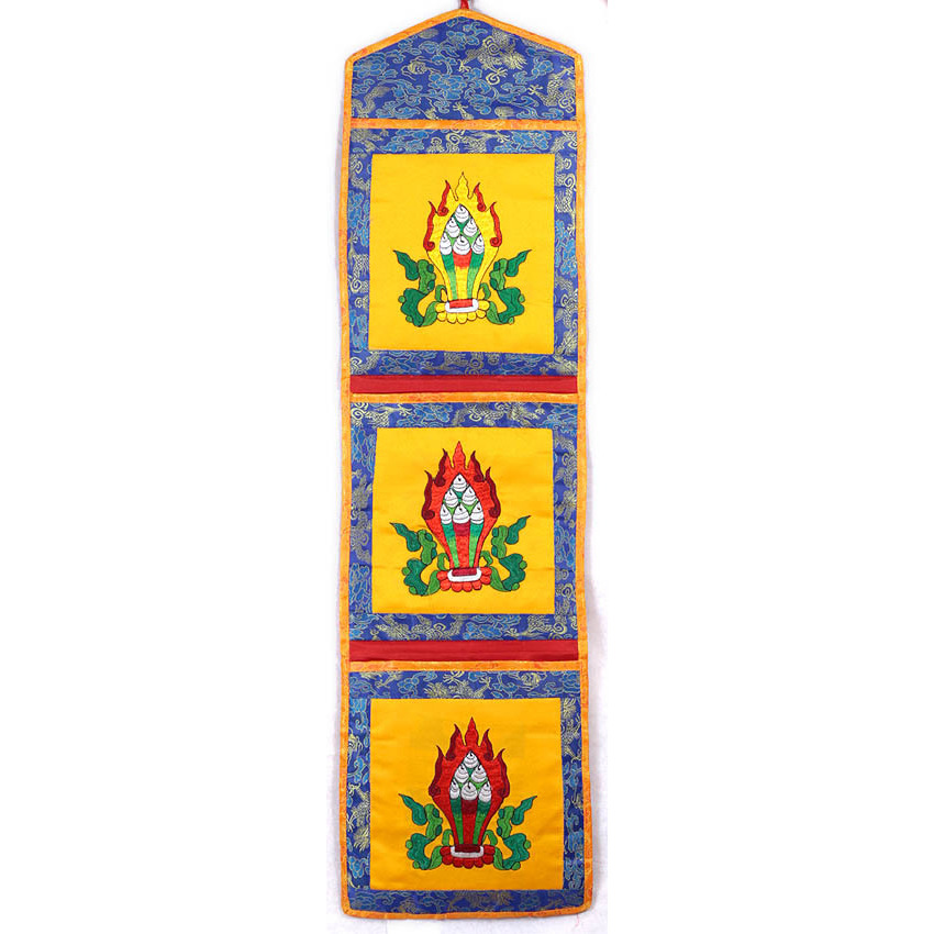 Religious Texts Holder with Embroidered Jewel