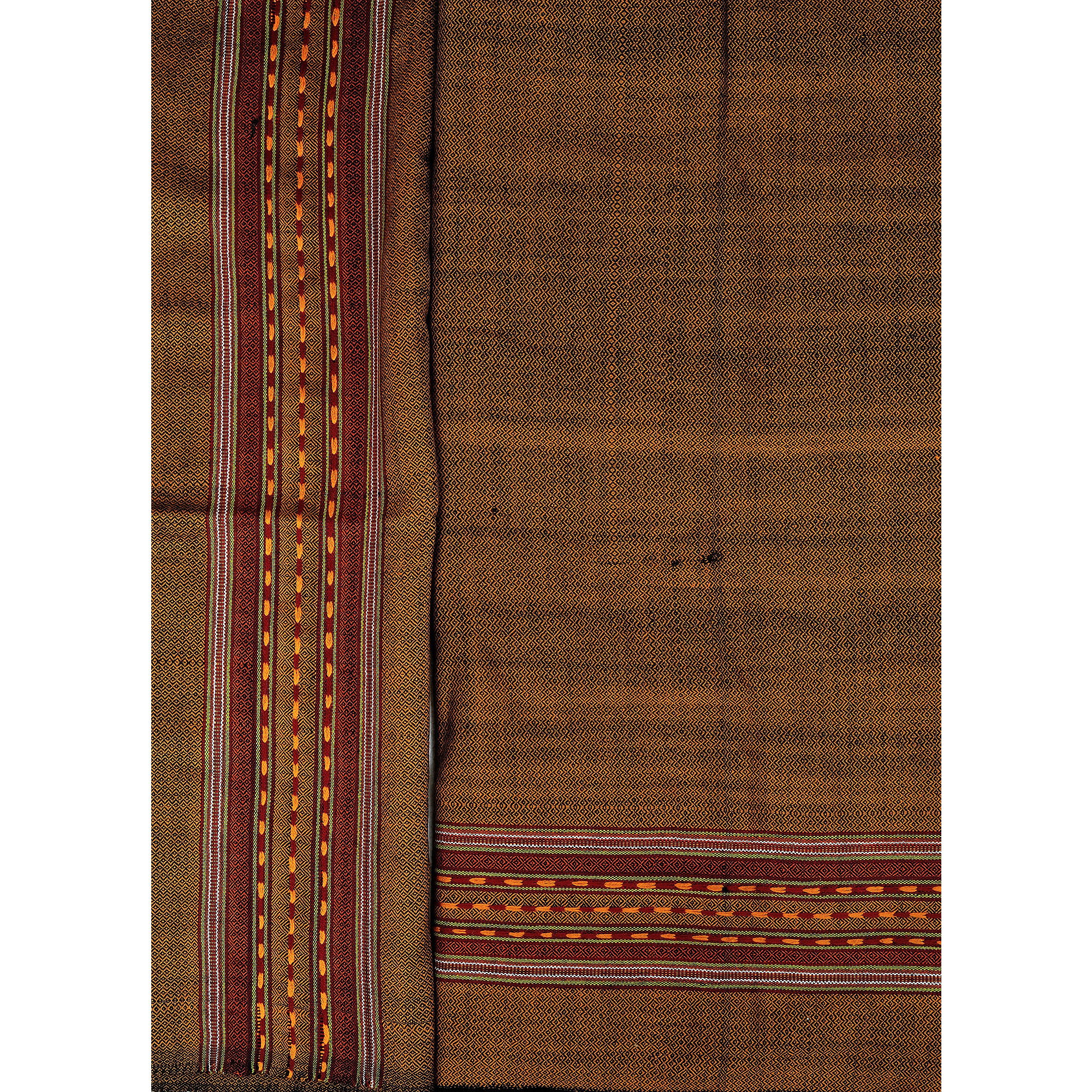 Salwar Kameez Fabric From Kullu with Kinnauri Hand-Woven Border
