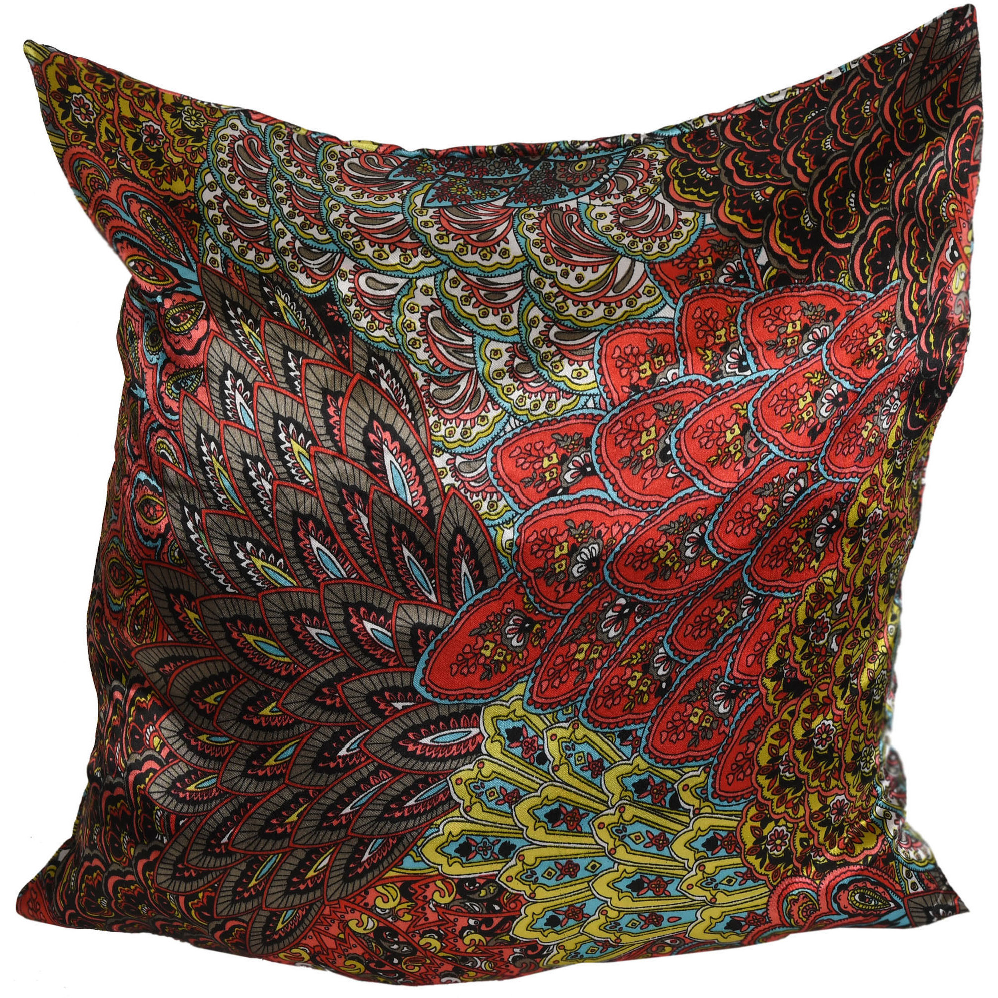 Floral Printed Cushion Cover