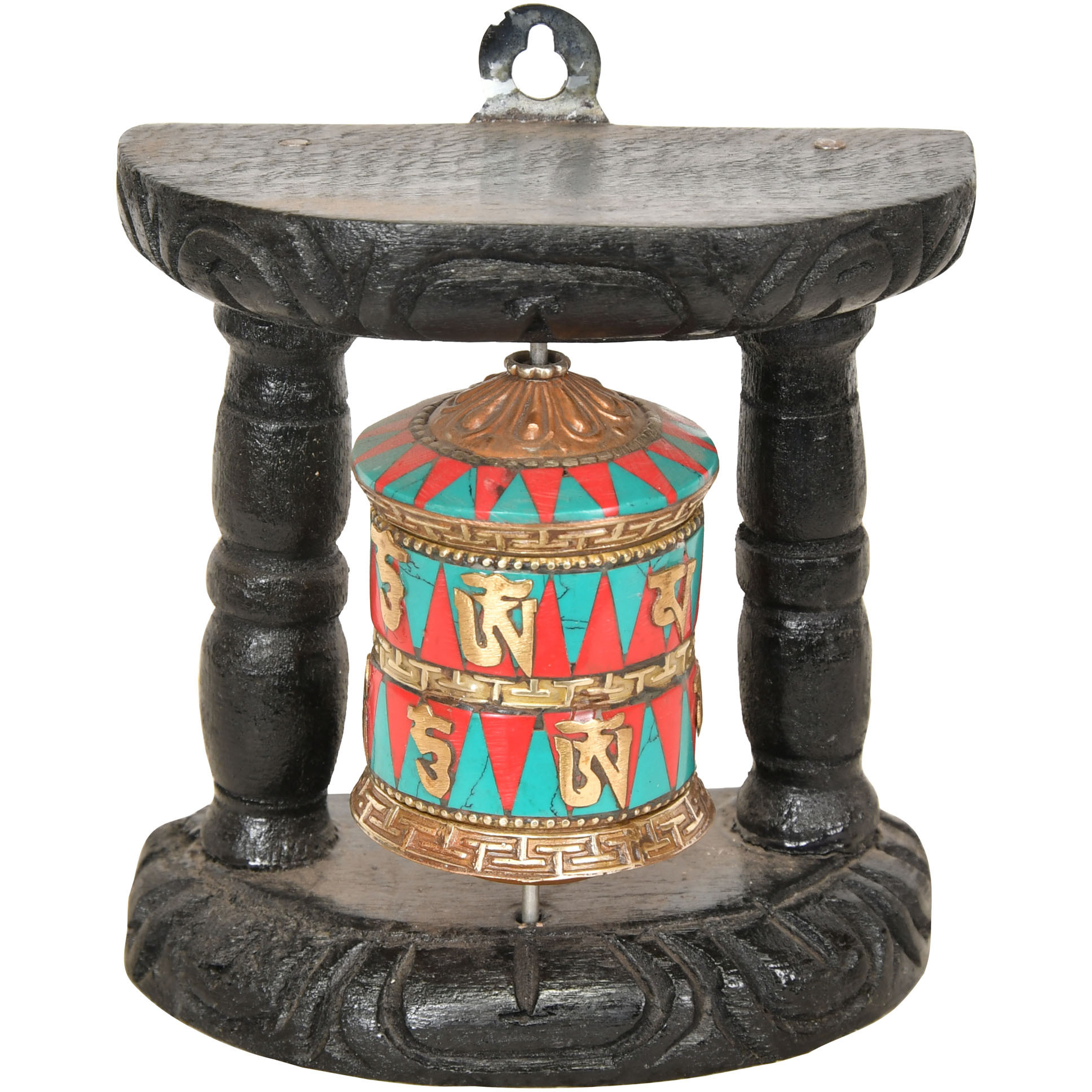 Tibetan Buddhist Small Size Prayer Wheel