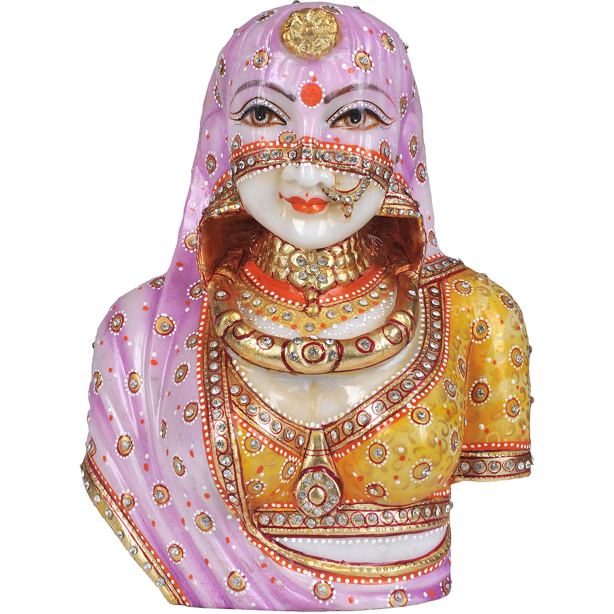Traditional Indian Bride Bust