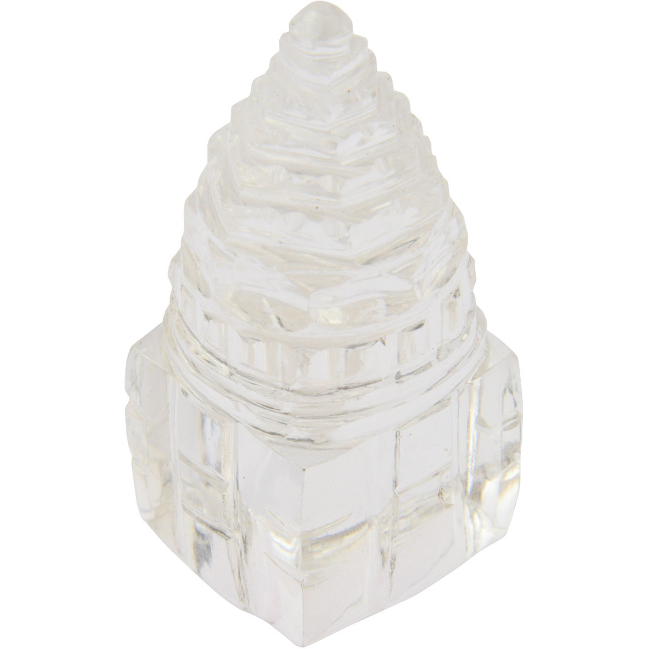 Shri Yantra Carved in Real Crystal